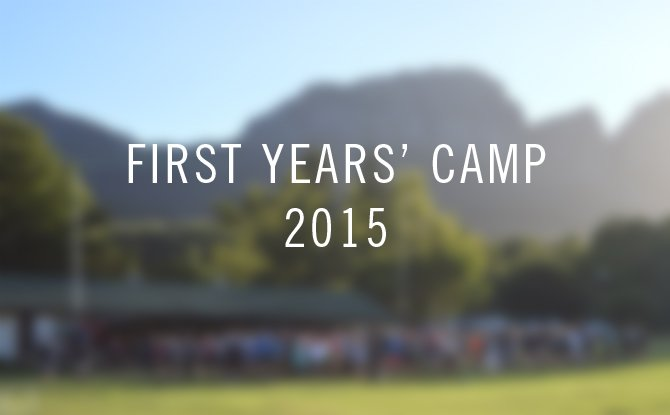 first years' camp