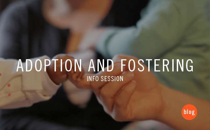 adoption and fostering info session