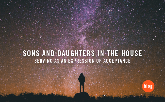 Sons and Daughters in the House: Serving as an expression of acceptance
